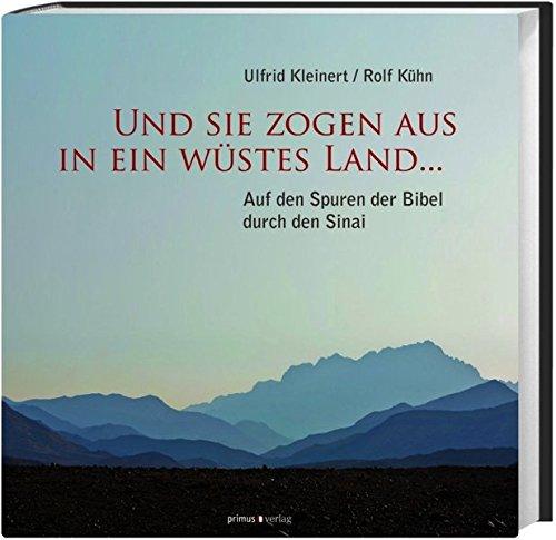 Und sie zogen aus in ein wüstes Land...: Auf den Spuren der Bibel durch den Sinai