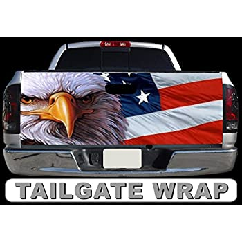 Amazon.com: T43 Bandera Americana Águila EE. UU. Portón ...