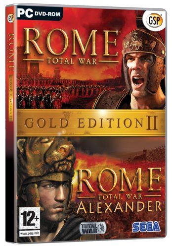 Rome Total War Gold Edition 2 (UK Edition) (Total War Rome 2)