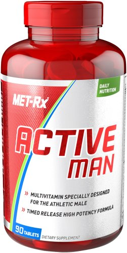 MET-RX ACTIVE MAN MULTIVITAMIN 90TABS