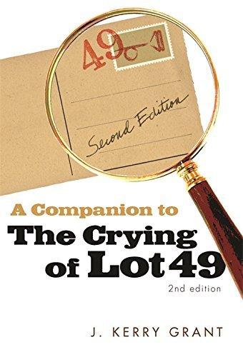 Thomas pynchon the crying of lot 49 ebook