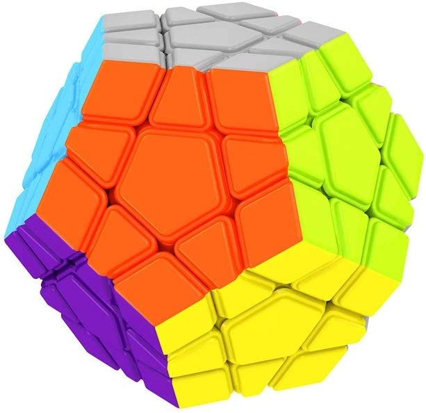 Gobus YONGJUN YJ RuiHu 12 surface Megaminx Dodecahedron 3x3 Gigaminx megaminx Cube Stickerless
