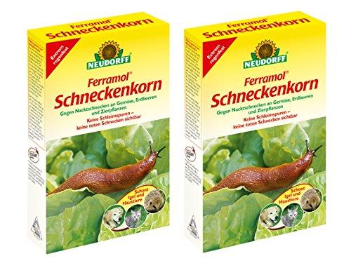 Neudorff Schneckenkorn Ferramol Sparpack 2 x 1 kg
