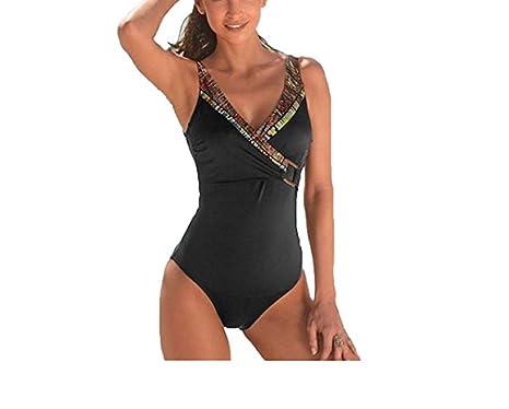 buy popular 6a8df f7176 Sunflair hochwertiger Damen Badeanzug schwarz mit ...