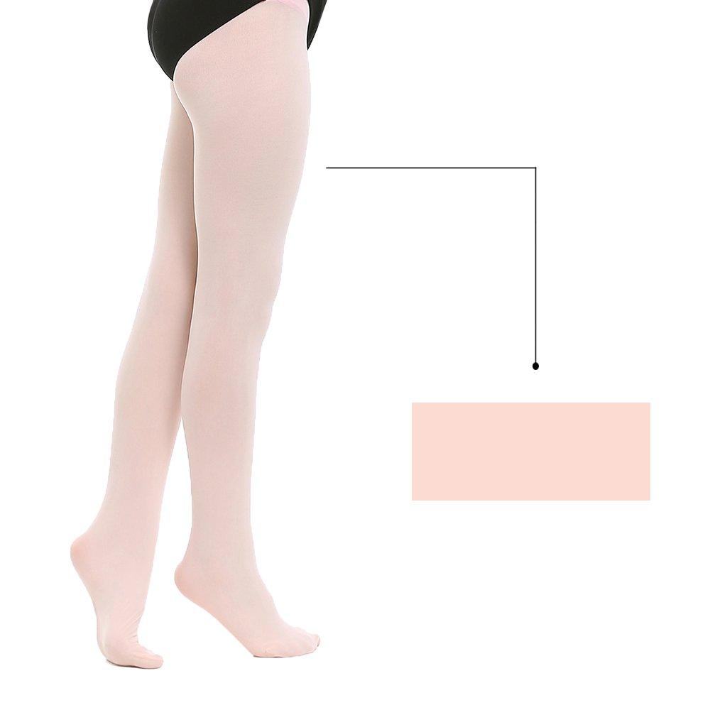 Toddler//Little Kid//Big Kid STELLE Girls Ballet Dance Students School Footed Tight