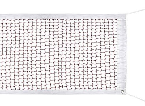 ATINUS Outdoor Badminton Tournament Net for Indoor or Outdoor Sports Garden Schoolyard Backyard (20 FT x 2.5 FT) with Rope Cable Top