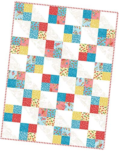 Meg Hawkey Back Porch Celebration Four Square Pod Quilt Kit Maywood Studio