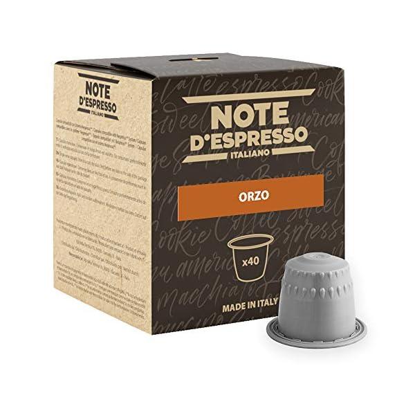 Note D'Espresso Preparato Solubile per Bevanda al Gusto di Orzo - 108 g (40 x 2.7 g) Esclusivamente Compatibili con le… 1 spesavip