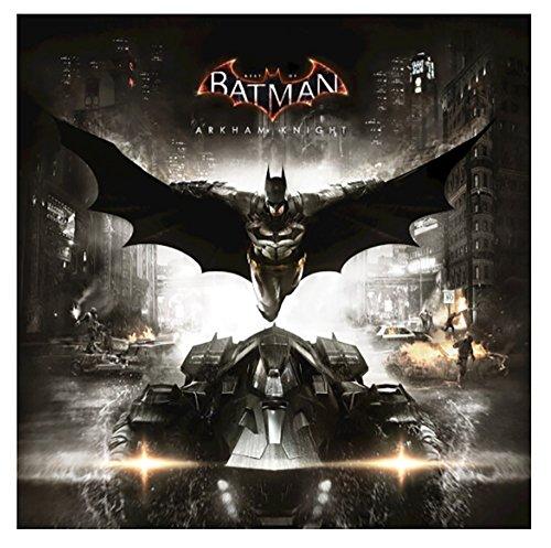 Best of Batman: Arkham Knight - The Original Motion Picture Soundtrack 1LP Exclusive Limited Edition Black & Silver Splatter Vinyl (Best Of Omd Vinyl)