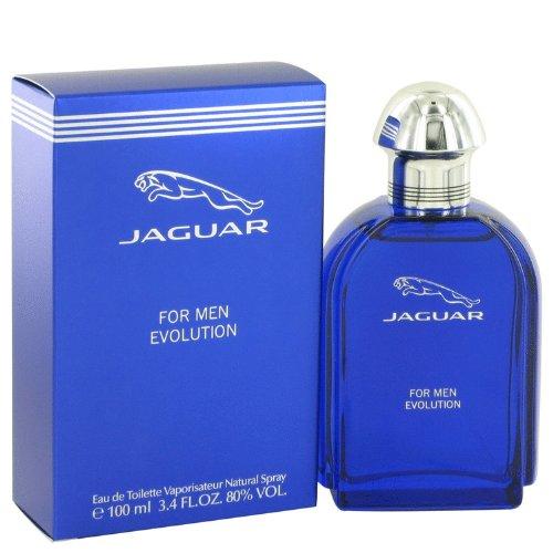 - Jaguar Evolution by Jaguar Men's Eau De Toilette Spray 3.4 oz - 100% Authentic