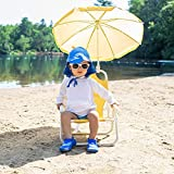 i play. Baby Flap Sun Protection Swim Hat, Light