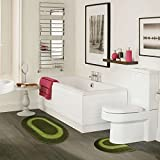 DADA Bath Rug Set Non Slip Machine Wash Available