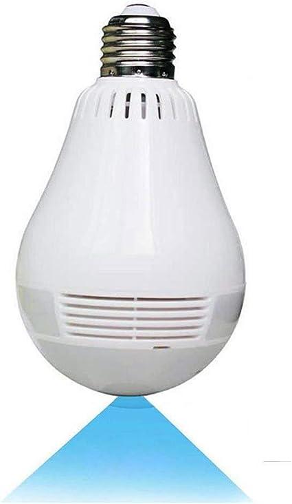 Amazon.com: Wireless 360° Panoramic Bulb Camera P8 - COSULAN 1080P Security Light Camera - WiFi Surveillance IP Camera Lamp - V380 Pro, 3D, VR, Fisheye, Motion Detection Alarm, Night Vision, Two Way Communication: Home Improvement