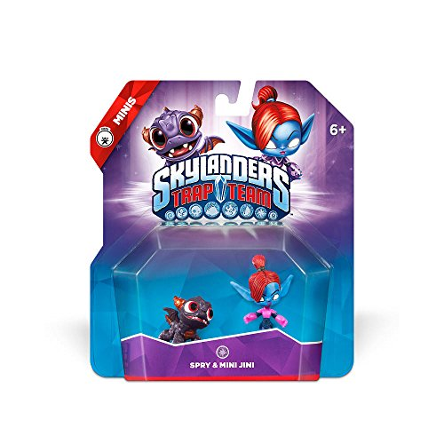 (Skylanders Trap Team: Spry & Mini Jini - Mini Character 2 Pack)