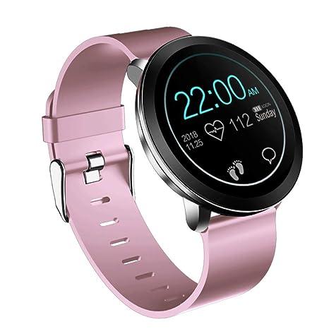 Amazon.com: Smartwatch Fly2 Pulsera inteligente de monitor ...