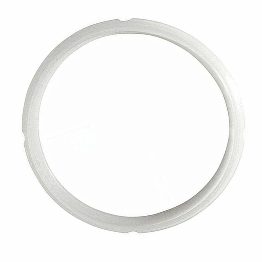 Kitchen Multi Power Cooker Silicone Sealing Ring for 6 qt 5 Quart Models Rubber Gasket by wollcocer (Image #1)