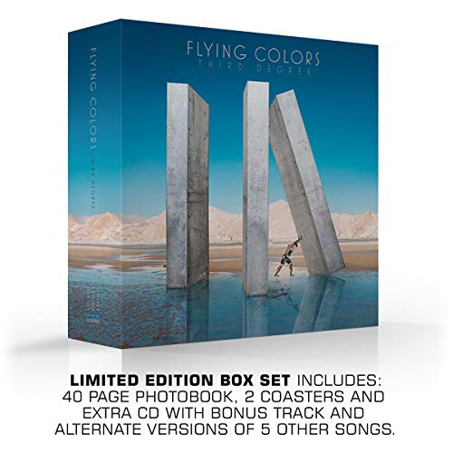 Third Degree (Limited Deluxe CD Box Set) (De Colores Cd)