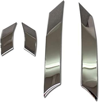 Beautost Fit For Toyota New RAV4 2019 Door Bowl Handle Cover Trims Chrome