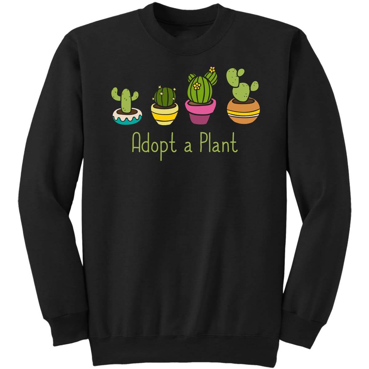 Adopt A Plant-Gardening Men Women Gifts Sweatshirt