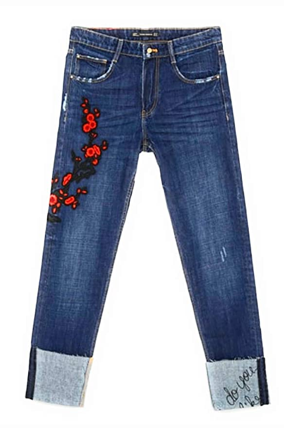 Amazon.com: Zara TRF - Pantalones vaqueros para mujer (talla ...