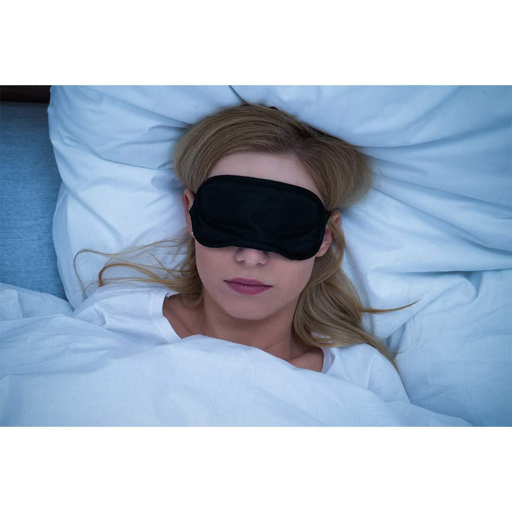 Sleep Mask, Silk Eye Mask Super Smooth Sleeping Mask by Jazzznap : Beauty