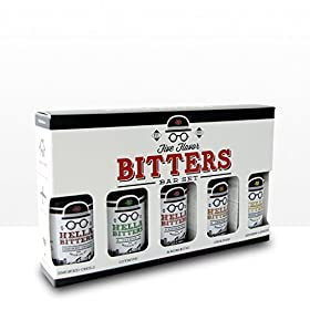 Hella Cocktail Co. | 5 Pack Bitters bar Set, 8.5 o...