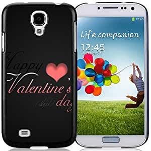 New Beautiful Custom Designed Cover Case For Samsung Galaxy S4 I9500 i337 M919 i545 r970 l720 With Happy Valentine Day Phone Case