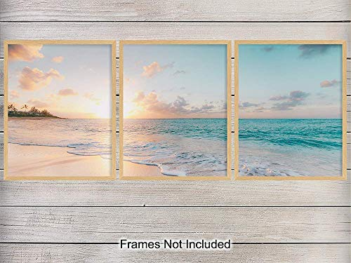 Ocean Sunset Photo Art Posters product image