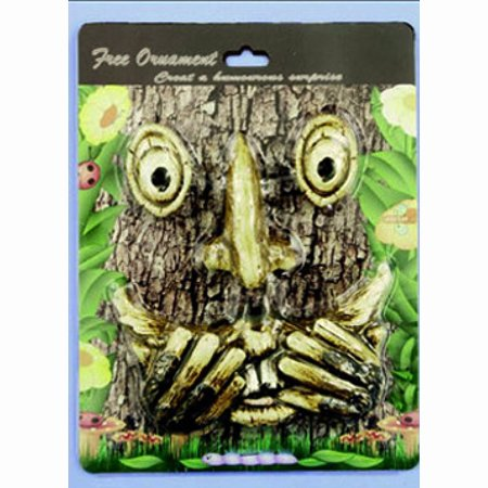 Scared Face Tree Decoration by Land & Sea