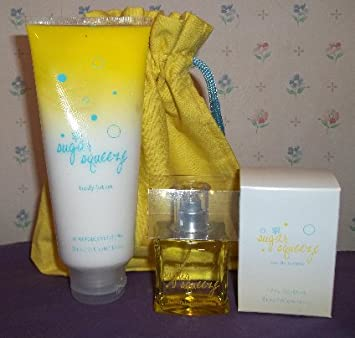 BeautiControl Spa Sugar Squeeze Lotion Eau de Toilette Set with bag