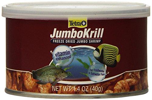 - Tetra JumboKrill Freeze Dired Jumbo Shrimp, Vitamin Enhanced