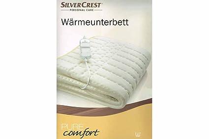 Silvercrest - Manta eléctrica para cama (80 x 150 cm)