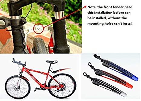 Mountain Bike Cycling Road Tire Front Rear Bicycle Guard New Mud Mudguard P8Q5
