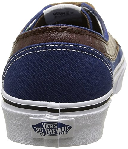 Bleu Brigata Plaid Blue Mixte Adulte Vans Estate Potting Sneakers Soil Leather Basses 1Zqnng6