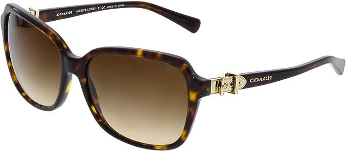 Amazon.com: Coach – Gafas de sol Para Mujer (acetato hc8179 ...