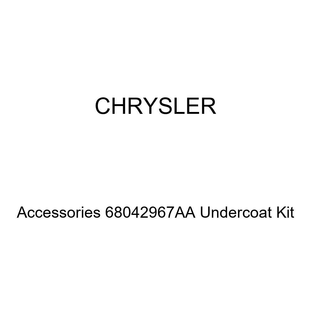 Chrysler Genuine Accessories 68042967AA Undercoat Kit