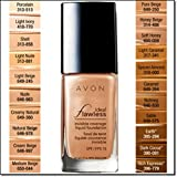 Avon Ideal Flawless Invisible Coverage Liquid Foundation SPF 15 Earth