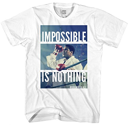 Muhammad Ali 60s Goat Greatest Boxer Of All Time Impossible Adult T-Shirt Tee
