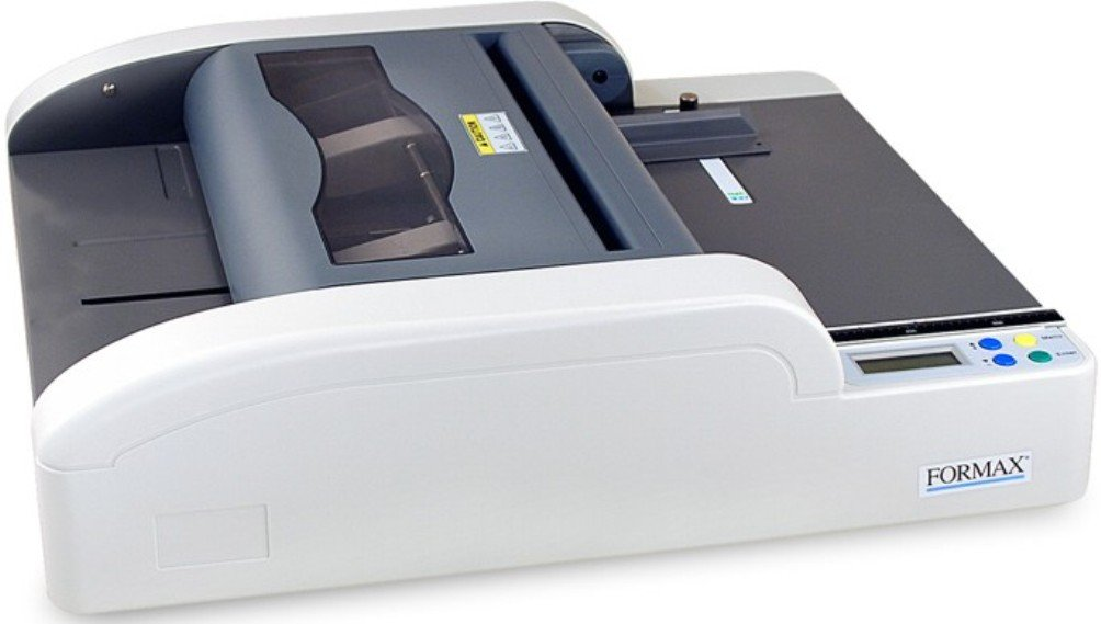 Formax FD 180 Automatic Tabletop Booklet Maker, Automatic push-button operation to staple and fold, 6 pre-set paper sizes and 6 programmable sizes, Quick and easy setup