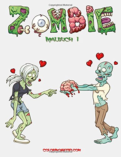 Zombie Malbuch 1: Amazon.de: Nick Snels: Bücher