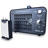 Alpine Air Commercial Ozone Generator – 10,000 mg/h | Professional O3 Air Purifier, Ozonator and Ionizer | Heavy Duty Air Cleaner, Deodorizer and Sterilizer | Best for Odor Stop Control