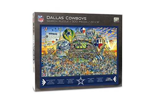 Joe Journeyman NFL Dallas Cowboys Jigsaw Puzzle,