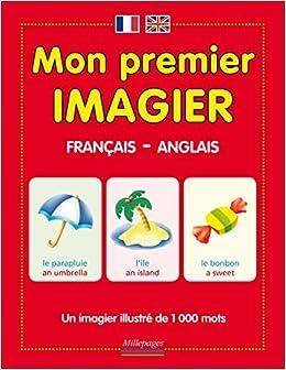 Mon Premier Imagier Francais Anglais Amazon Fr Muriel