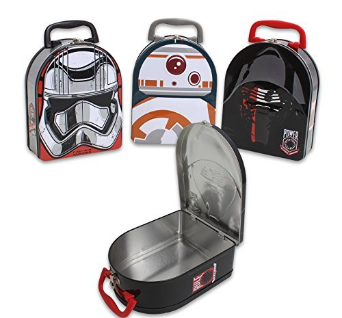 Star Wars Embossed Tin Lunch Box - Style May Vary