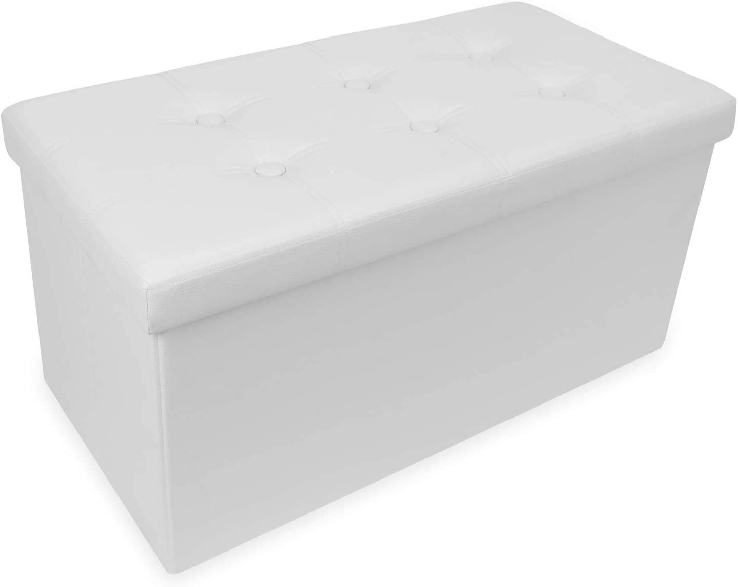 OOTORI Folding Storage Ottoman Bench