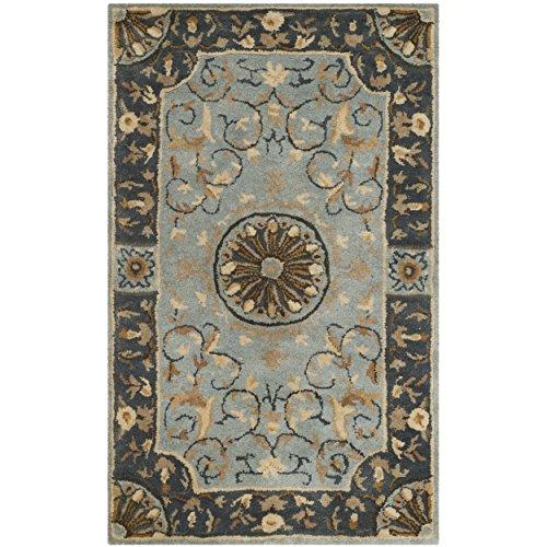 Safavieh Empire Collection EM459C Handmade Classic European Blue Premium Wool Area Rug (2'6