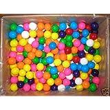 "200 Large 1"" Assorted Gumballs Gum Balls Vending Candy"