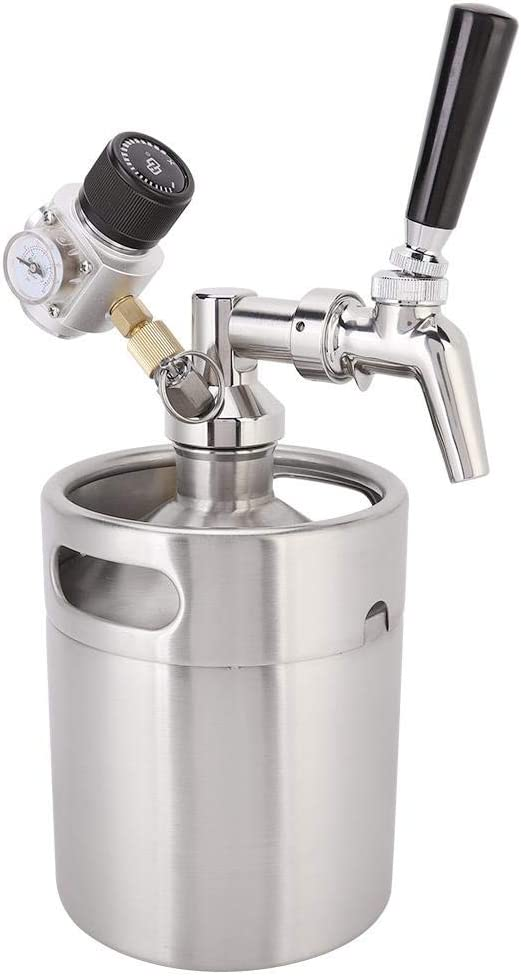 Beer Dispenser, Pressurized Growler Tap System, Durable for Outdoor and Bar Craft and Draft Beer Tea, Cold Coffee