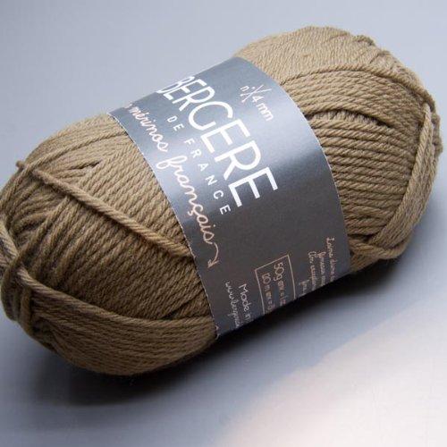 (Bergere de France Pur Mérinos Français - Kaki (29123) Knitting Yarn)