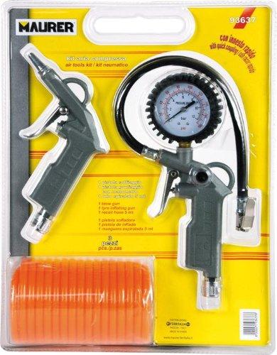 Maurer 17020069 Kit Accesorios Compresor 3 Piezas